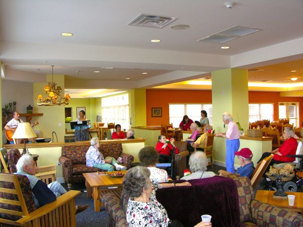 Kingston Santa Fe Assisted Living Activities