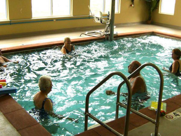 Aquatic Therapy at Kingston of Ashland