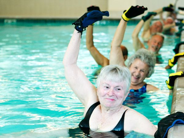 Thanksgiving Bulking Power Athlete Water Aerobics Exercise