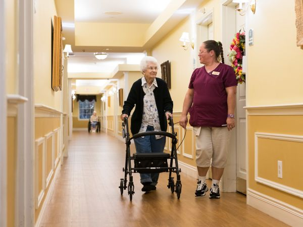 Resident & Caregiver at Kingston in Marion, OH