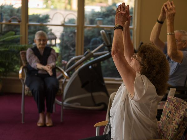 Group Exercise Activity | Kingston Residence of Fort Wayne