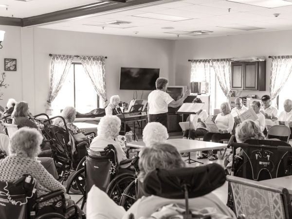 Choir Performing at Kingston of Ashland Rehabilitation Community