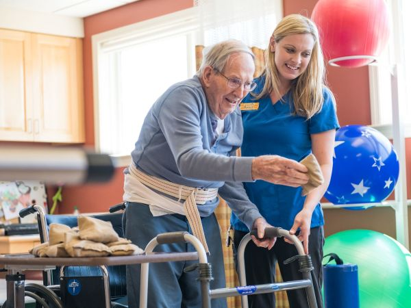 Physical Therapy Patient at Kingston of Ashland