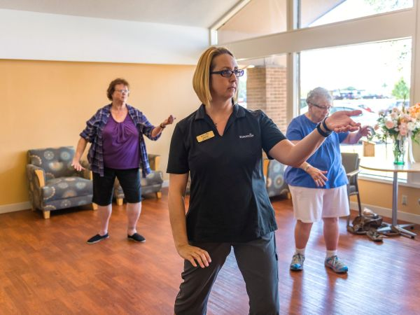 Tai Chi Wellness Program | Kingston of Ashland