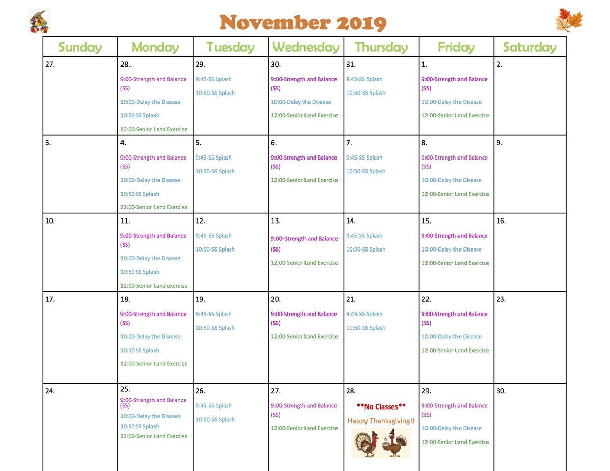 KCCS-Nov-Class-Schedule