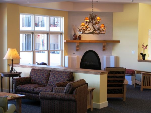Living Room at Kingston Assisted Living in Santa Fe