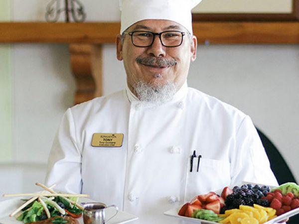Chef Tony Krsf
